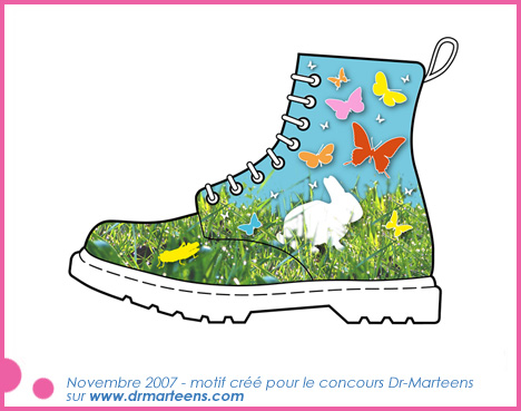 dr martens butterfly