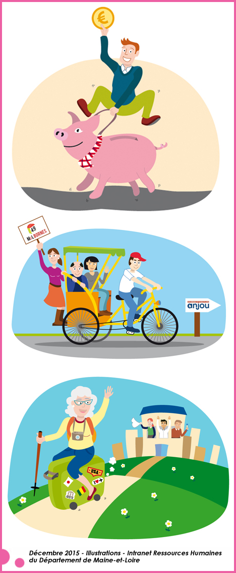 illustrations intranet RH